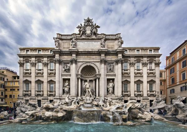 tour baroque rome trevi fountain