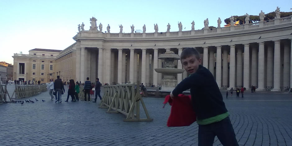 Private tours of Rome with kids