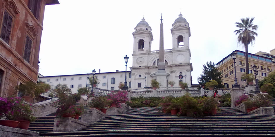 Rome Private tour  & Sightseeing  Spanish Steps
