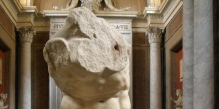 Belvedere Torso Vatican Museums